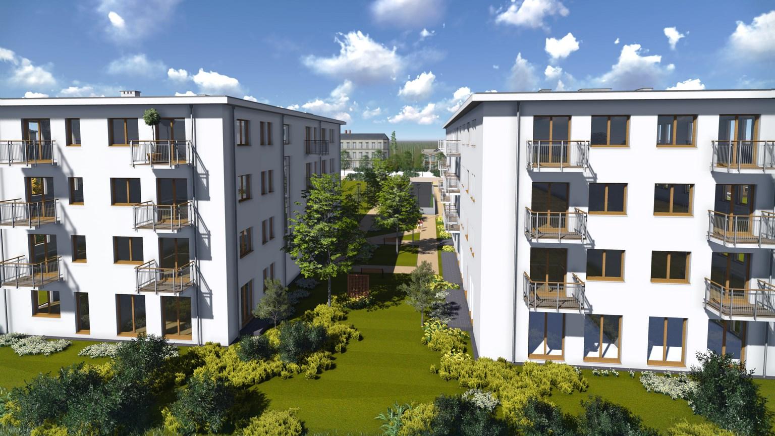 Nowe osiedle Piaseczno
